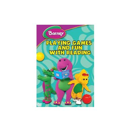 Barney Playing Games And Fun With Reading Dvd Buy Online In
