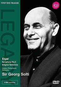 Elgar:Sym No 2 Enigma Variations - (Region 1 Import DVD)