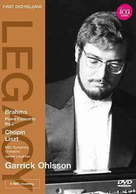 Garrick Ohlsson Plays Brahms Chopin L - (Region 1 Import DVD)