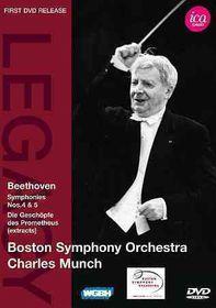 Beethoven:Syms Nos 4 & 5 Die Geschopf - (Region 1 Import DVD)