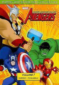 Marvel the Avengers:Earth's Might V 1 - (Region 1 Import DVD)