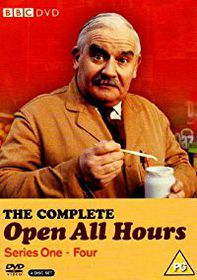Open All Hours Complete Series 1-4 Box Set (DVD)