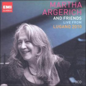 Argerich Martha - Live From Lugano 2010 (CD)