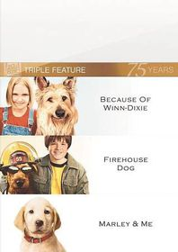 Marley & Me/Firehouse Dog/Because of - (Region 1 Import DVD)
