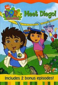 Dora the Explorer Meet Diego(DVD)