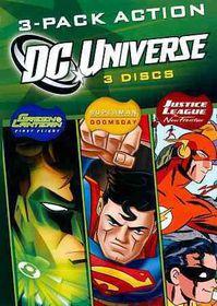 DC Universe 3 Pack Action - (Region 1 Import DVD)