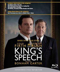 The King's Speech (2010)(Blu-ray)