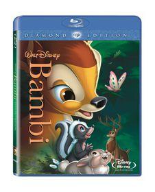 Bambi (Blu-ray/DVD combo)