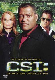 CSI Vegas: Crime Scene Investigation Complete Season 10 (DVD)
