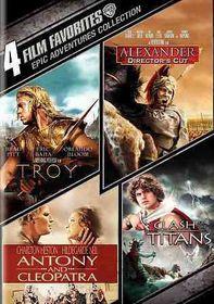 4 Film Favorites:Epic Adventures - (Region 1 Import DVD)