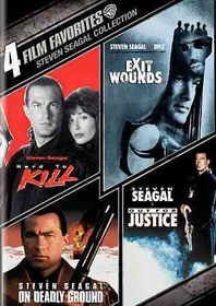 4 Film Favorites:Steven Seagal Action - (Region 1 Import DVD)