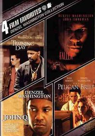 4 Film Favorites:Denzel Washington - (Region 1 Import DVD)