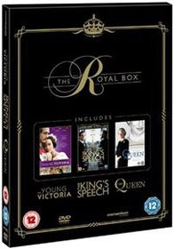 Royal Box (The King's Speech/ The Queen/ Young Victoria) (DVD)