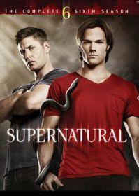 Supernatural Season 6 (DVD)