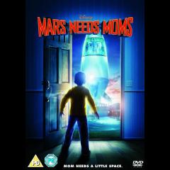 Mars Needs Moms (2011)(DVD)