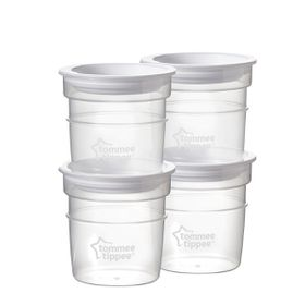 Tommee Tippee - Breast Milk Storage Pots - 4 Pack