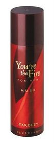Yardley You're Fire Him Musk Deodorant 125ml