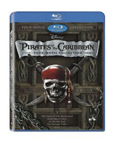 Pirates of the Caribbean 1-4 Box Set (Blu-ray)