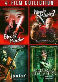 Blood Murder/Blood Murder 2/Junior/De - (Region 1 Import DVD)