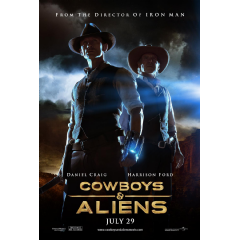 Cowboys & Aliens (2011)(Blu-ray)