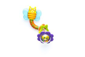 Snookums - Bee Twist Rattle & Teether