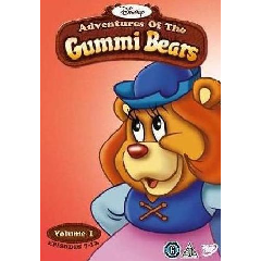 Disney's Adventures of the Gummi Bears Vol 1 Disc 2 (DVD)