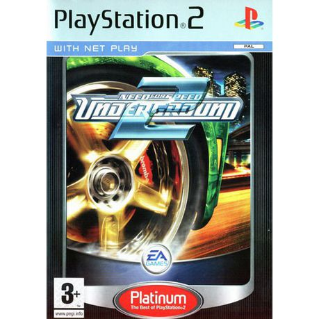 Need For Speed Underground 2 (PS2 Platinum)
