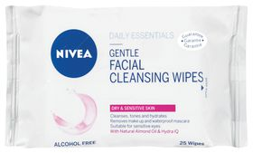Nivea Visage Gentle Clean Wipes 25s- CJ