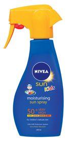 Nivea Kids Trigger Spray Spf 50+ 300ml