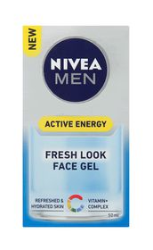 Nivea Men Active Energy Face Gel - 50ml
