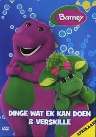 Barney: Dinge wat ek kan doen en Verskille (DVD)