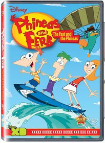 Phineas And Ferb: The Fast And The Phineas (DVD)
