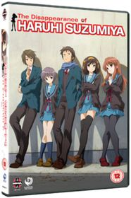 Disappearance Of Haruhi Suzimiya (Import DVD)