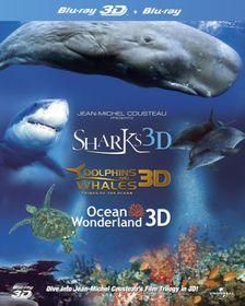 Jean-Michel Cousteau's Film Trilogy in 3D (Import 3D Blu-ray)