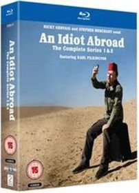An Idiot Abroad: Series 1 and 2 (Import Blu-ray)