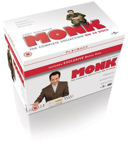 Monk: Complete Series Season 1- 8 (Import DVD)