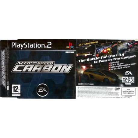 Need For Speed: Carbon + Most Wanted (PS2)
