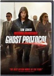 Mission Impossible: Ghost Protocol (DVD)