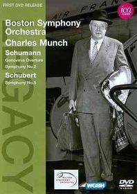 Schumann/Schubert:Munch & Bso Ica Cla - (Region 1 Import DVD)