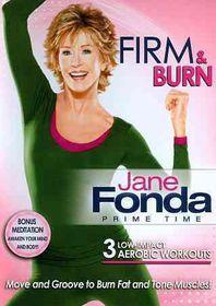 Jane Fonda Prime Time:Firm & Burn - (Region 1 Import DVD)