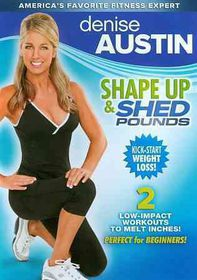 Denise Austin:Shape up and Shed Pound - (Region 1 Import DVD)