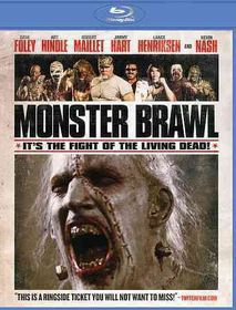 Monster Brawl - (Region A Import Blu-ray Disc)