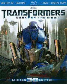 Transformers:Dark of the Moon Ue 3d - (Region A Import Blu-ray Disc)