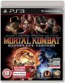 Mortal Kombat: Game of the Year (PS3)