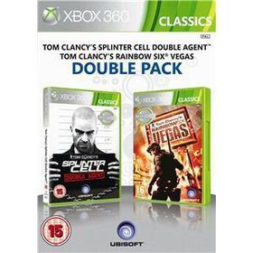 Splinter Cell Double Agent / Rainbow Six Compilation (Xbox 360 Classic)
