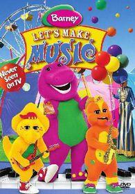 Barney: Let's Make Music (2004)(DVD)