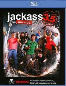 Jackass 3.5:Unrated Movie - (Region A Import Blu-ray Disc)
