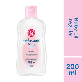Johnson and Johnson - 200ml Baby Oil