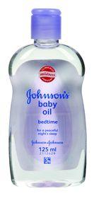 Johnson and Johnson - 125ml Bedtime Baby Oil