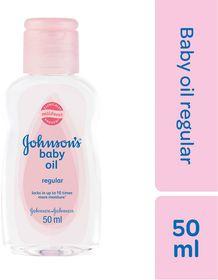 Johnson and Johnson - 50ml Baby Oil